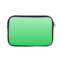 Pastel Green To Dark Pastel Green Gradient Apple iPad Mini Zipper Case