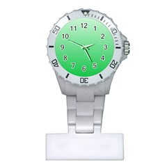 Pastel Green To Dark Pastel Green Gradient Nurses Watch