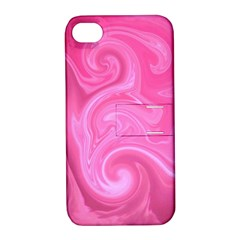 L272 Apple iPhone 4/4S Hardshell Case with Stand