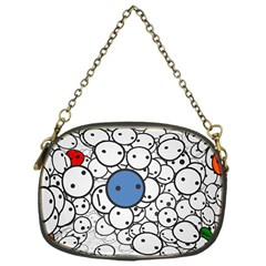 Smiley Chain Purse (one Side)