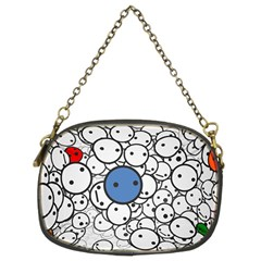 Smiley Chain Purse (Two Side)