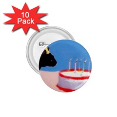 Birthday Kitty! 1.75  Button (10 pack)
