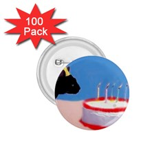 Birthday Kitty! 1.75  Button (100 pack)