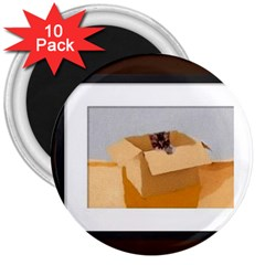 Untitled 3  Button Magnet (10 Pack)