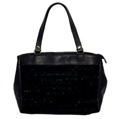 Splash Of Color Oversize Office Handbag (one Side)