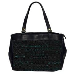 splash of color Oversize Office Handbag (Two Sides)