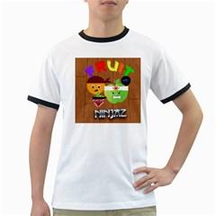 Fruit Ninjaz Mens' Ringer T Shirt