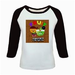 Fruit Ninjaz Women s Long Cap Sleeve T-Shirt