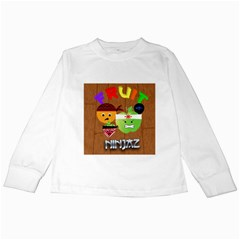 Fruit Ninjaz Kids Long Sleeve T Shirt