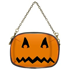 Pumpkin Chain Purse (One Side)