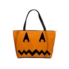 Pumpkin Large Shoulder Bag