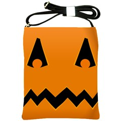 Pumpkin Shoulder Sling Bag