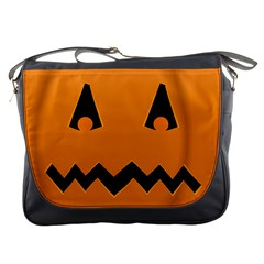 Pumpkin Messenger Bag