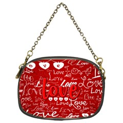 Love Chain Purse (two Side)