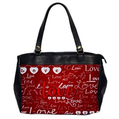 Love Oversize Office Handbag (One Side)