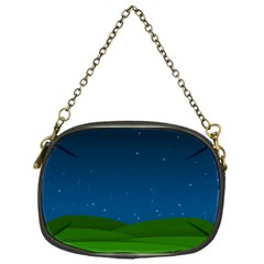 Rolling Hills Chain Purse (One Side)