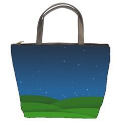 Rolling Hills Bucket Bag