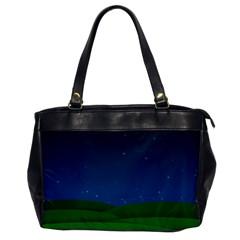 Rolling Hills Oversize Office Handbag (one Side)