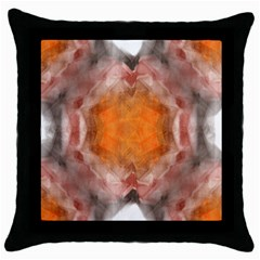 Seamless Background Fractal Black Throw Pillow Case