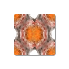 Seamless Background Fractal Magnet (Square)