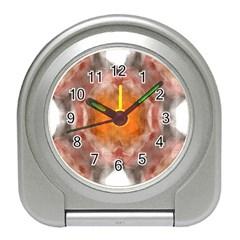 Seamless Background Fractal Desk Alarm Clock