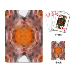 Seamless Background Fractal Playing Cards Single Design