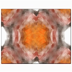 Seamless Background Fractal Canvas 11  X 14  (unframed)