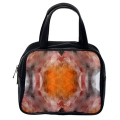 Seamless Background Fractal Classic Handbag (One Side)