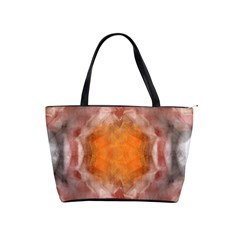 Seamless Background Fractal Large Shoulder Bag