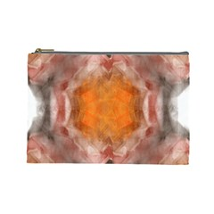 Seamless Background Fractal Cosmetic Bag (Large)