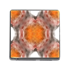 Seamless Background Fractal Memory Card Reader With Storage (square)