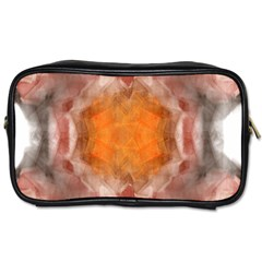 Seamless Background Fractal Travel Toiletry Bag (two Sides)