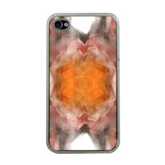 Seamless Background Fractal Apple iPhone 4 Case (Clear)