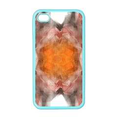 Seamless Background Fractal Apple Iphone 4 Case (color)