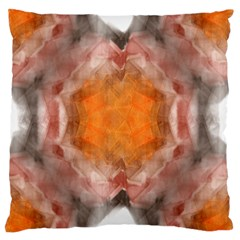 Seamless Background Fractal Large Cushion Case (two Sides)
