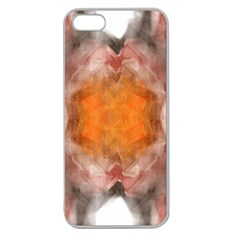Seamless Background Fractal Apple Seamless iPhone 5 Case (Clear)