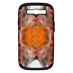 Seamless Background Fractal Samsung Galaxy S III Hardshell Case (PC+Silicone)