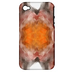 Seamless Background Fractal Apple iPhone 4/4S Hardshell Case (PC+Silicone)