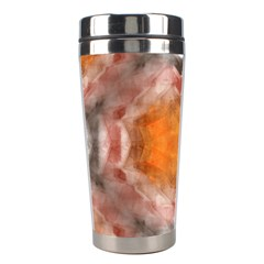 Seamless Background Fractal Stainless Steel Travel Tumbler