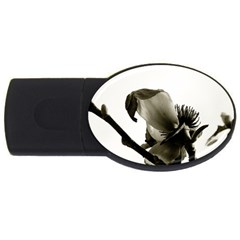 Magnolia 2GB USB Flash Drive (Oval)