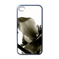 Magnolia Apple iPhone 4 Case (Black)