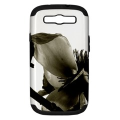 Magnolia Samsung Galaxy S III Hardshell Case (PC+Silicone)