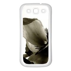 Magnolia Samsung Galaxy S3 Back Case (White)