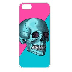 Funky Skull Apple Iphone 5 Seamless Case (white)