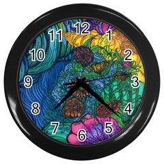 Beauty Blended Wall Clock (Black)