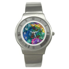 Beauty Blended Stainless Steel Watch (Unisex)
