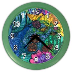 Beauty Blended Wall Clock (Color)