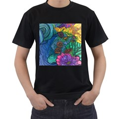 Beauty Blended Mens' T Shirt (black)