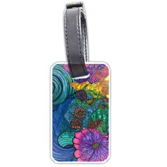 Beauty Blended Luggage Tag (One Side)