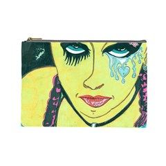 Missing You  Retro Cosmetic Bag (Large)